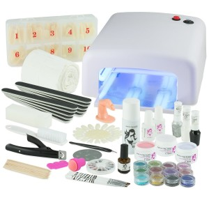 Gel Nägel Set UV-Gel XXXL Set - Nagelstudio Starterset: