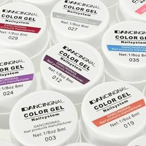DancingNail-36-Farben-Nail-Art-UV-Gel-Set-Farbgel-Gele-Glitter-Puder-Nagel-Design-Nagel-Kunst-spitzt-0-7