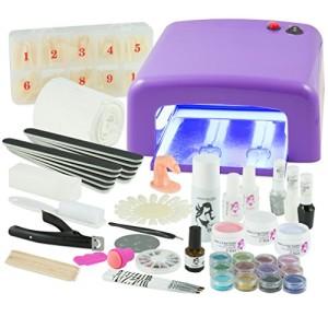 UV-Gel-XXXL-Set-4-Rhren-Gert-Nails-Nagelstudio-LILA-nagelset-nagelstudioset-Starterset-0-1