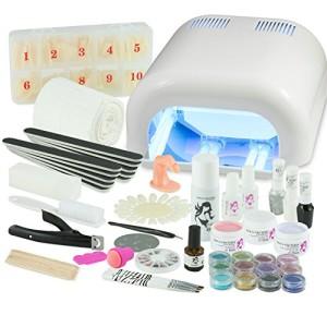 UV-Gel-XXXL-Set-4-Rhren-Gert-Nails-Nagelstudio-WEISS-nagelset-nagelstudioset-Starterset-0-2