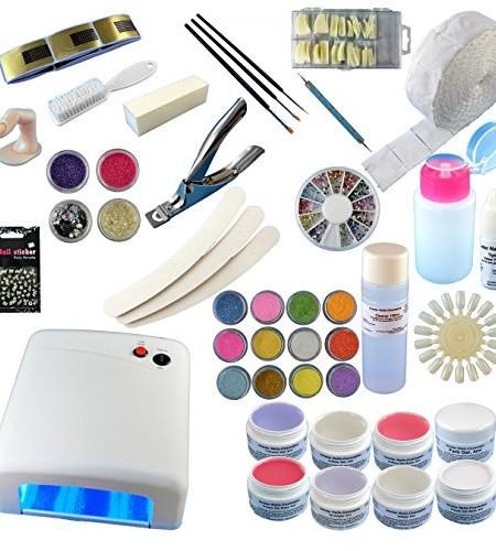 UV-Lampe-36W-8-x-4-ml-Gele-Zubehr-0-8